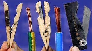 Aprenda a fazer 3 DESCASCADORES DE FIOS caseiros