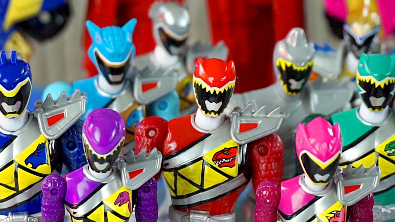 Which Power Rangers Dino Charge Ranger Got Their Energem