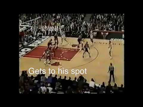 Michael Jordan Post Moves - Middle Turn