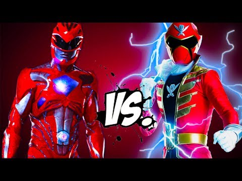 Red Power Rangers vs Red Super MegaForce