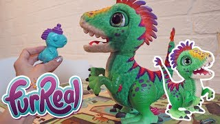 Обзор интерактивной игрушки FurReal / Малыш Дино