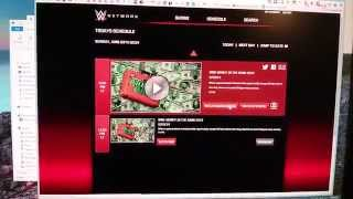 Watch from beginning problem with WWE Network