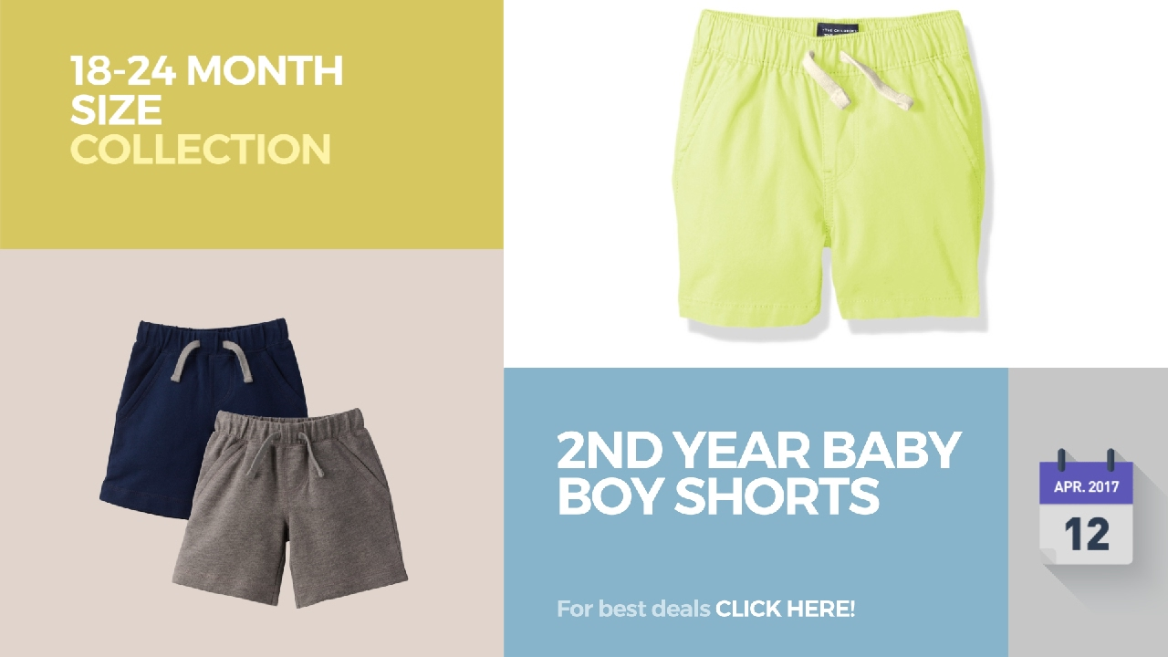 cefbdae16 2nd Year Baby Boy Shorts 18-24 Month Size Collection - YouTube