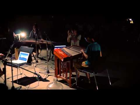 Daeil Lee's Sound Art concert at old steel factory / Xizhi, Taiwan 2014