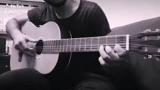 أغنية على بالي عزف جيتار ❤️ عزف حزين تاب جيتار اغنية شرين حالات واتس اب