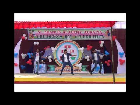 Children`s day celebration dance by jisnu sir, Laiju sir, Shibin sir