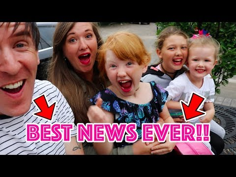 WE HAD THE BEST NEWS EVER! - STILL CANT BELIEVE IT!!