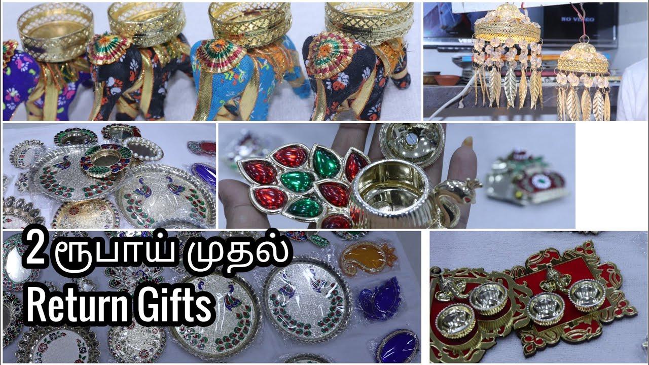 Weddingmarriagenalanguseemantham Return Gift Collections With Price Return Gifts Home Decor