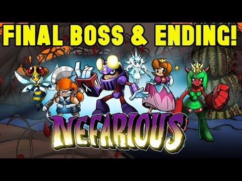 Nefarious Final Boss Ending Youtube