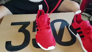 How to lace NMD (double loop method