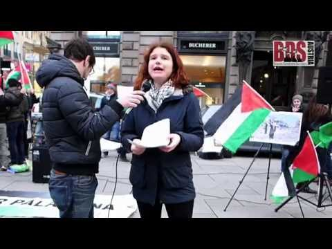 Israel Apartheid Week - Rally Vienna 2015
