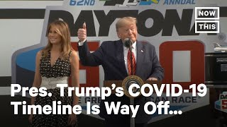 Trump's COVID-19 Timeline VS. WHO's COVID-19 Timeline | NowThis