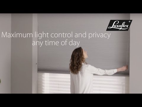 Duette® and Plissé Shades Day & Night fabric from Luxaflex®
