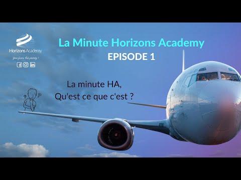 La Minute HA Episode 1