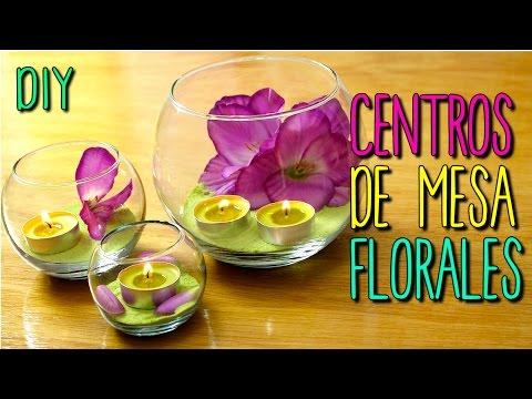 Centros de mesa doovi - Centro de mesa con flores ...