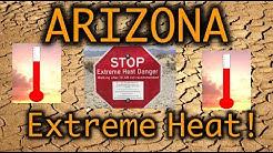 Arizona Extreme Heat Temperatures - Phoenix Summer 2019