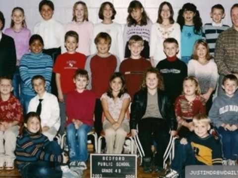 Justin Bieber Growing Up-Very Rare Personal Pictures Including School Pictures