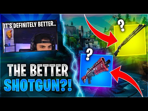 This is why THIS is The Better Shotgun Fortnite Battle Royale