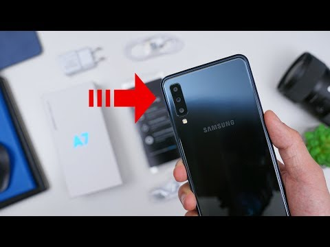 Rp 4.499 Juta! Unboxing Samsung A7 (2018) Indonesia!