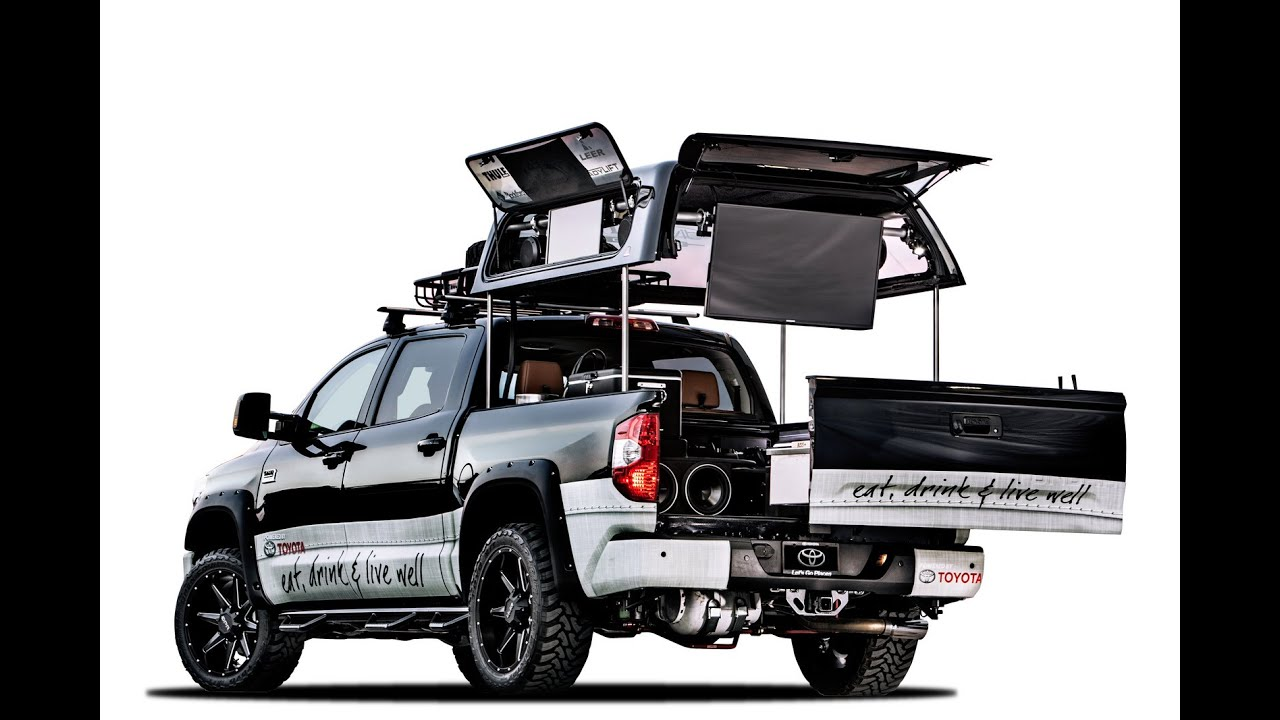 Tim Love Toyota Tundra By Divine 1 Customs 2014 Sema