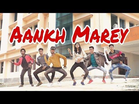 Aankh Marey - Simmba | Ranveer Singh, Sara Ali Khan | Tanishk Bagchi, Milka, Neha Kakkar, Kumar Sanu