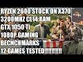 Ryzen 2600 + GTX 1050 Ti - 1080p Gaming Benchmarks - 12 Games Tested