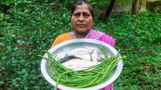 Village Cooking | S1E5 - Flat Fish & Long Bean Cooking Recipe by Village Food Life