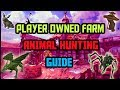 Complete Guide on How To Obtain Every Animal for Player Owned Farms [Runescape 3, 2018]