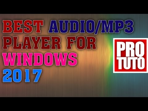 Best Audio/mp3 Player 2017 For Windows