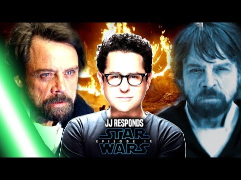 Star Wars! JJ Abrams Responds To Luke Alive In Episode 9 Star Wars