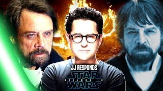 Star Wars! JJ Abrams Responds To Luke Alive In Episode 9 (Star Wars News)