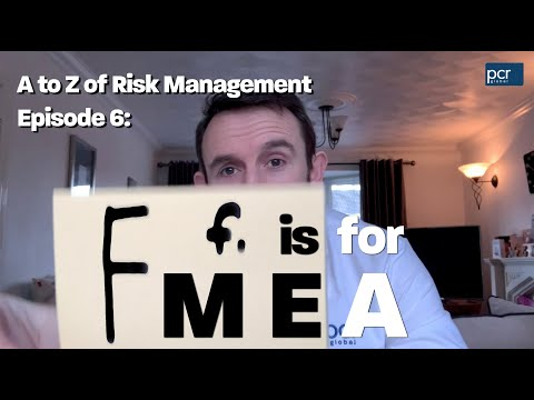 Health & Safety A-Z | F is for FMEA (Failure Modes and Effects Analysis)