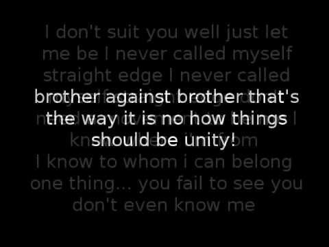 Ryker's Brother against brother (with lyrics)