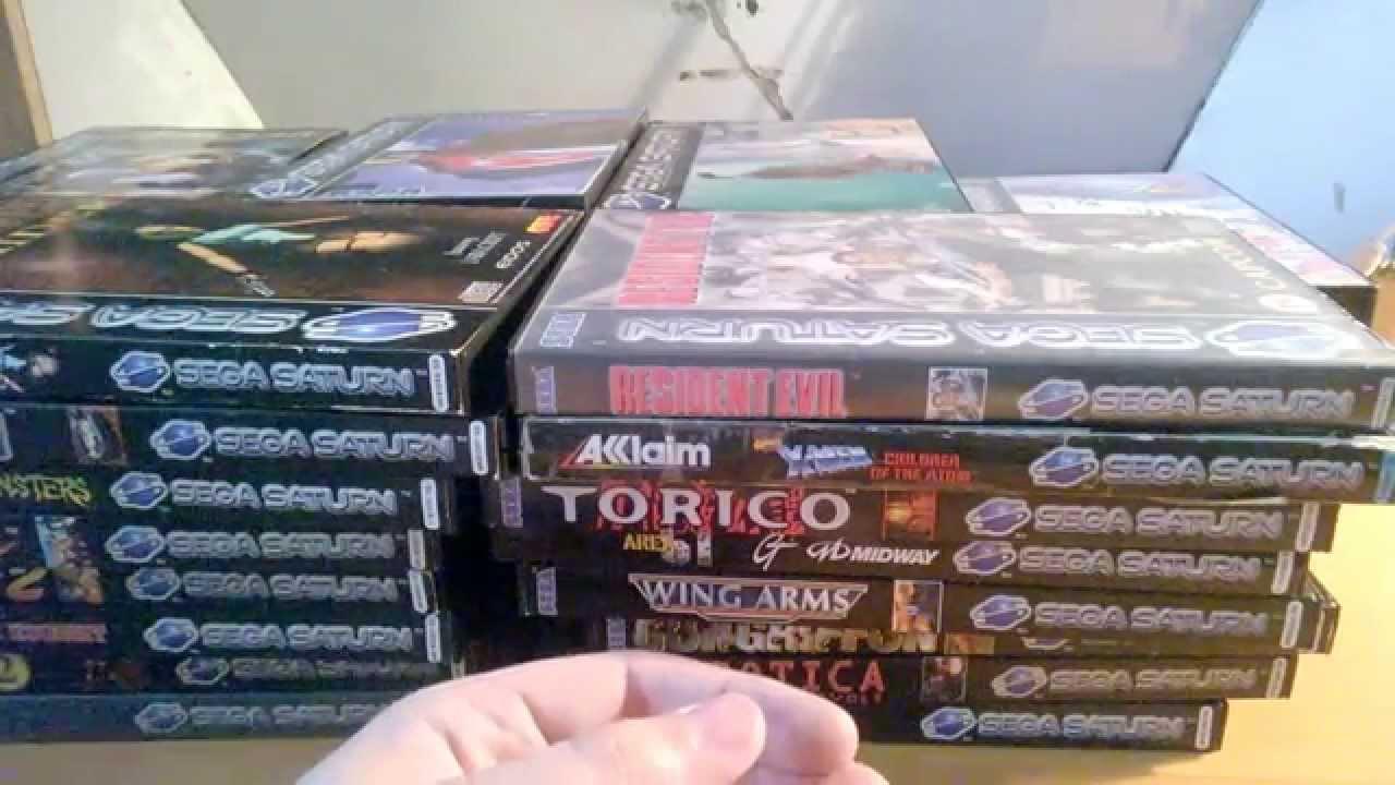 Collection Sega Saturn Pal Youtube