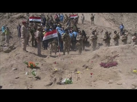 Tikrit reclaimed: mass graves found after Isis occupation