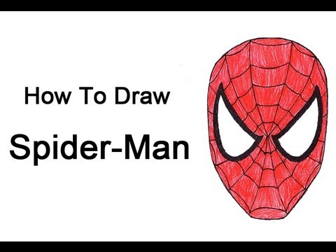 how to make a spiderman mask out of spandex