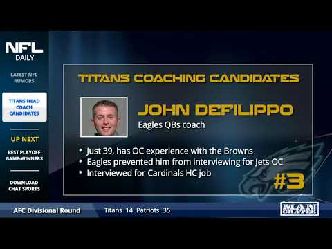 Titans Head Coach Candidates: Top 5 Replacements For Mike Mularkey