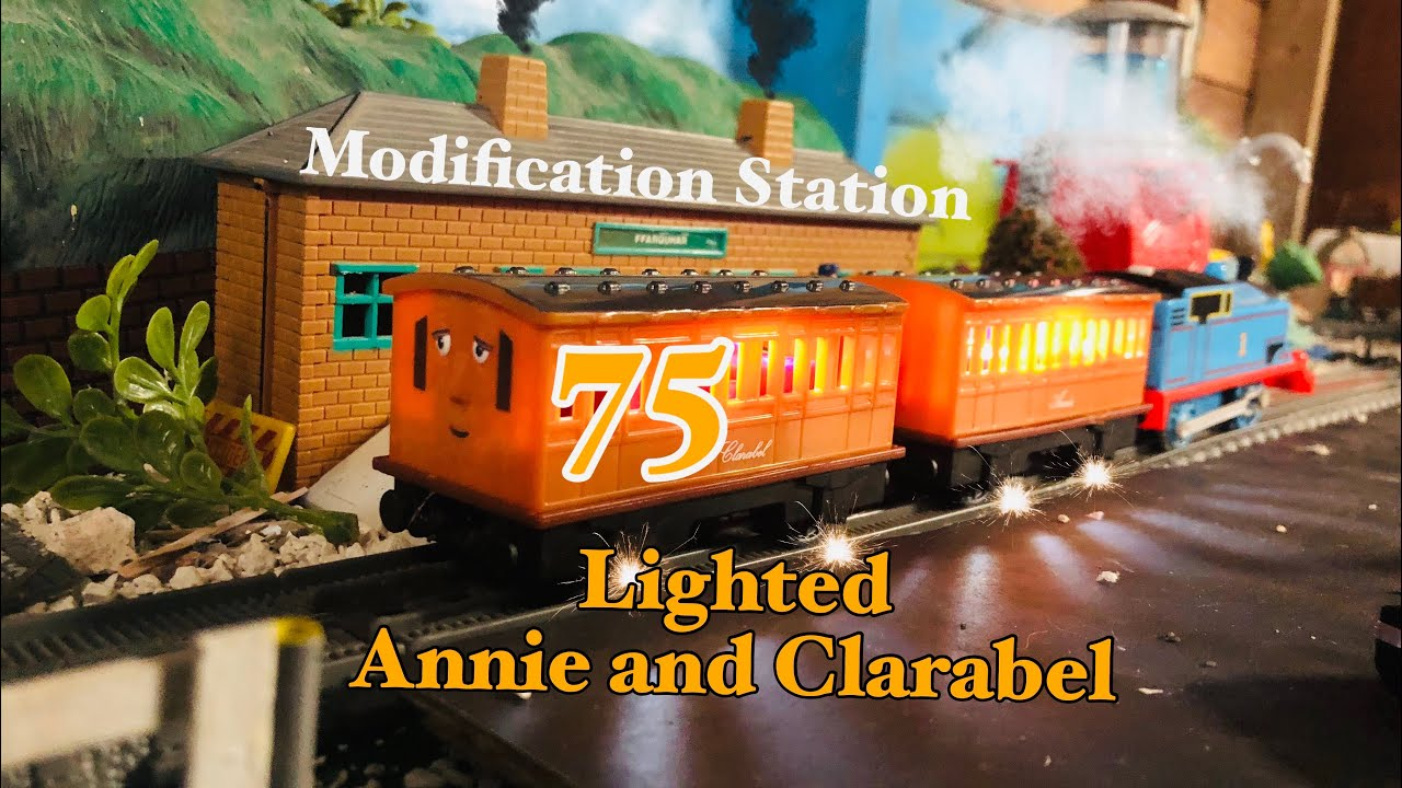 MODIFICATION STATION 75 LIGHTED ANNIE AND CLARABEL