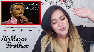 Righteous Brothers Unchained Melody (LIVE 1965)  REACTION! 🔥 | First Time Reacting