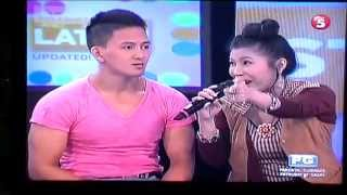 "MYSTICA AND KID LOPEZ AT ""ANG LATEST"", TV5"