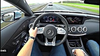 The New Mercedes AMG S63 4Matic+ Coupe 2019 Test Drive