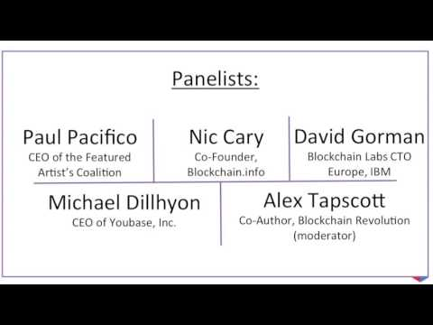 Blockchain Panel in London