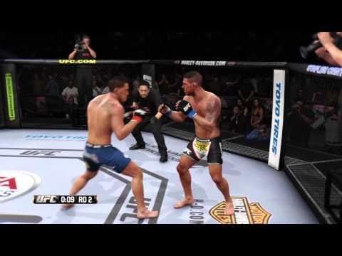 UFC 185 PETTIS VS DOS ANJOS MAIN EVENT FULL SIMULATION FIGHT