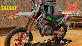 #Salade93: Présentation de ma WheelieBike Derbi 100 2Fast 😍💎/Wheeling Contest J'arrive 😁😈🚀