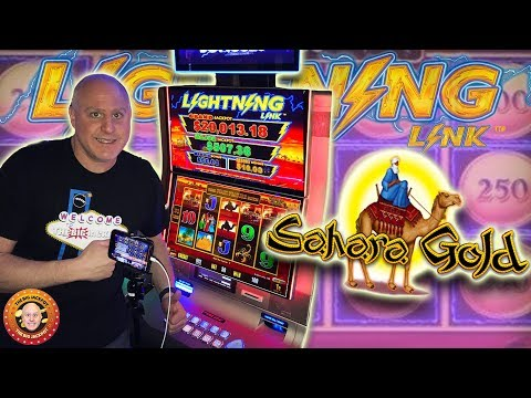 $4,000 PROFIT! ⚡High Limit $50 Spin WIN$ on Sahara's Gold! ⚡| The Big Jackpot
