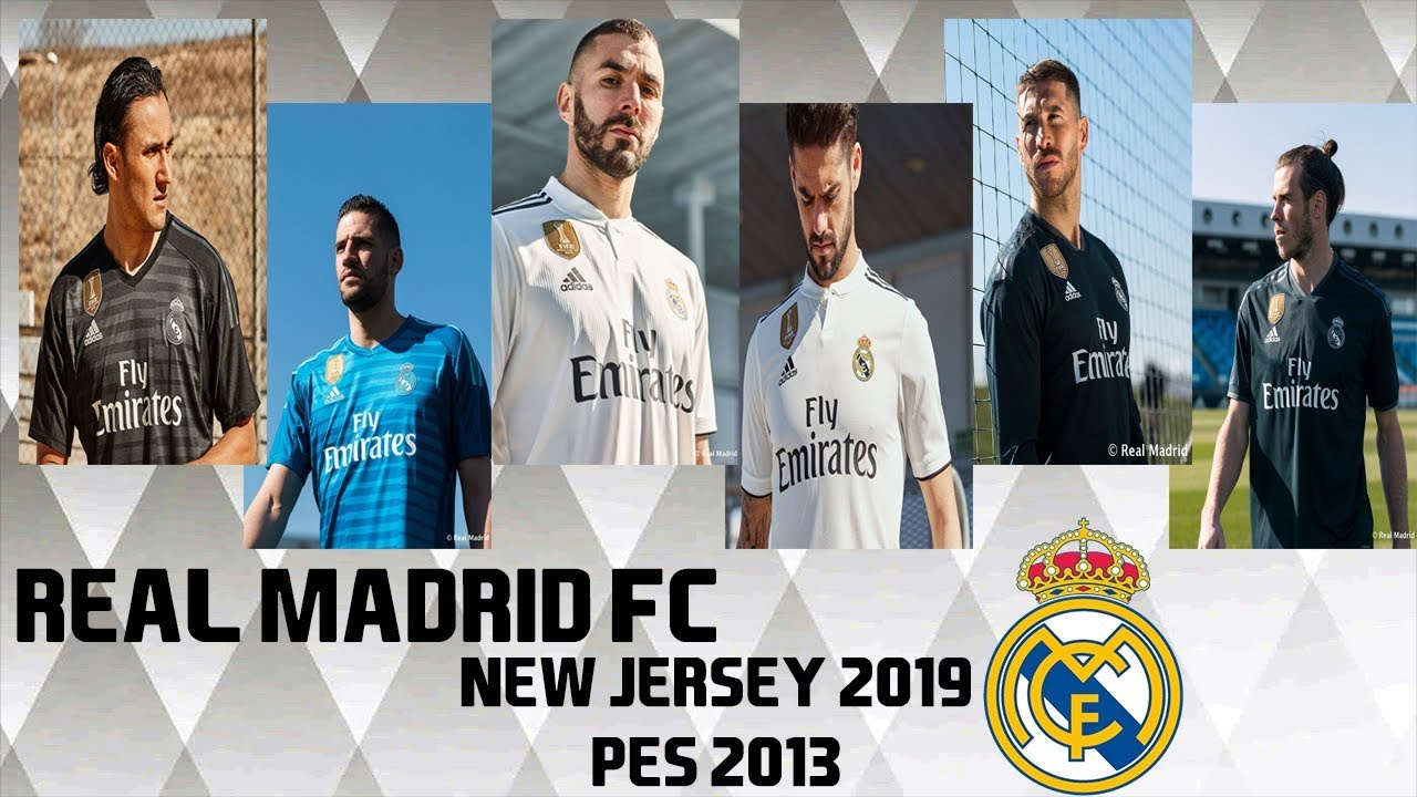 PES 2013 ○ New Kit GDB Real Madrid FC 2018-2019 HD - YouTube b5d27b0c5ff2c