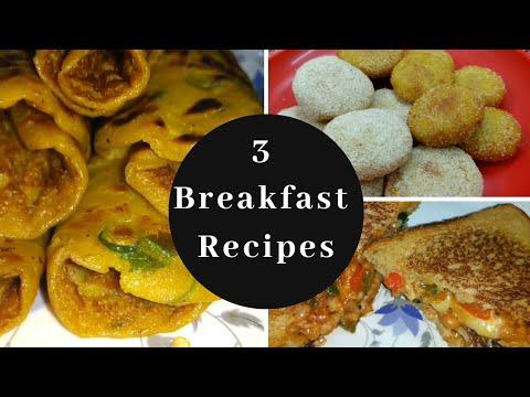 Breakfast recipes Indian vegetarian Ideas- Easy Indian breakfast recipes-Sanasrasoi