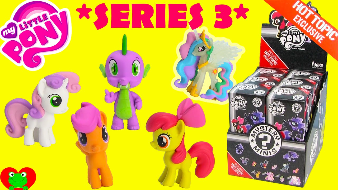 My Little Pony Mystery Minis Series 3 Hot Topic Exclusives
