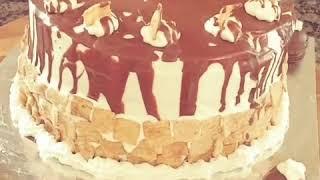 Cinnamon Toast Crunch chocolate cake