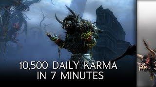 My Daily Guild Wars 2 Season 3 Route (10,500 Karma in less than 7 minutes)